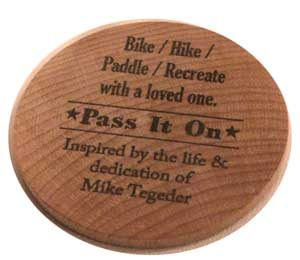 Token - Bike/HIke/Paddle/Recreate with a loved one.