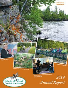Cover of Annual Report 2014
