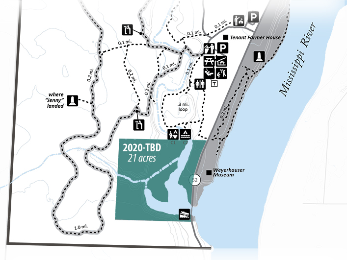 partial map of the park