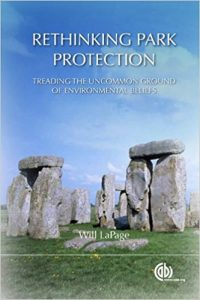 Cover of book: Rethinking Park Protection