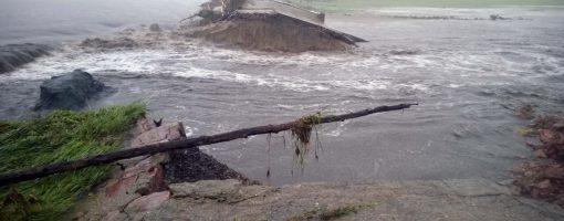 Dam washout