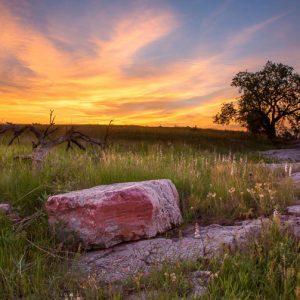 Blue Mounds State Park by Debbie Kippen