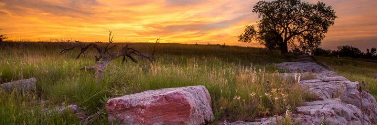 Blue Mounds State Park by Debbie Kippen