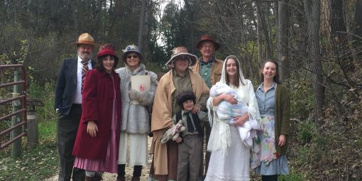actors ready to portray history of the park