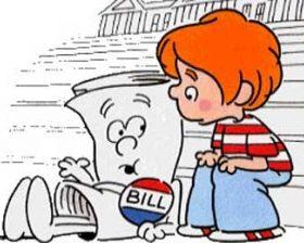 """Cartoon of """"I'm Just a Bill"""""""