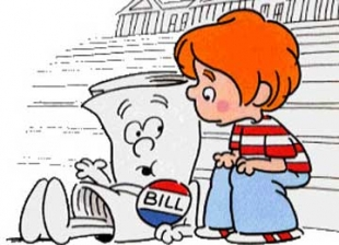 "Cartoon of ""I'm Just a Bill"""