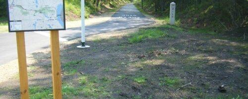 Browns Creek State Trail trailhead