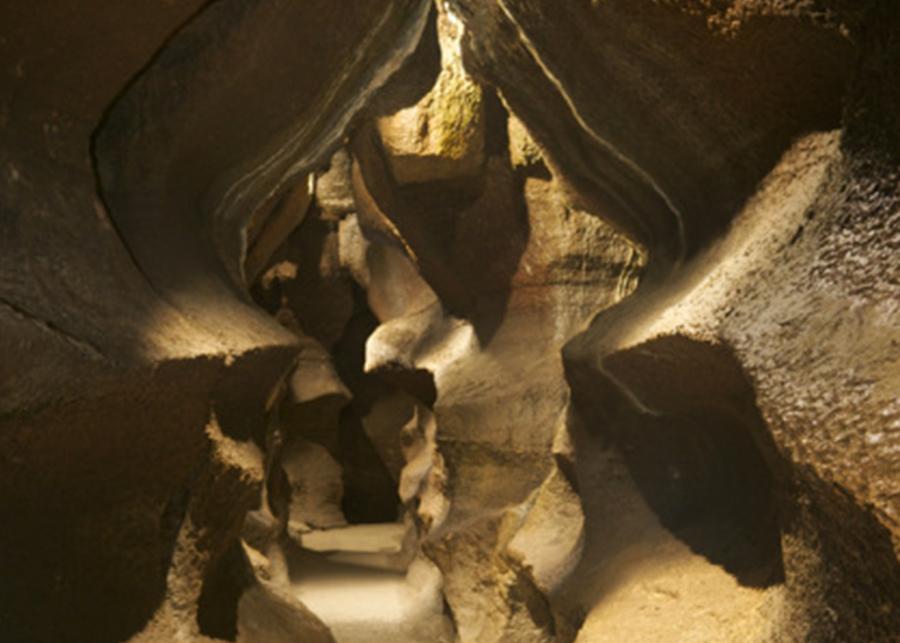 inside Niagara Cave