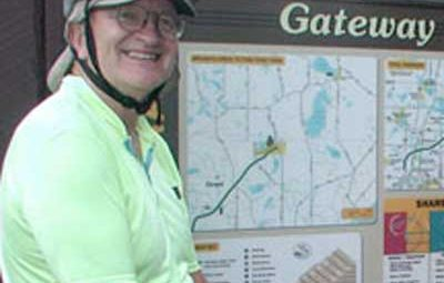 Peter Seed on Gateway Trail