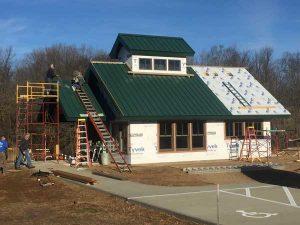 Building the sugar shack