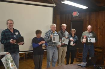 friends volunteers with volunteer recognition awards