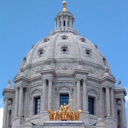 Dome of the Minnesota State Capitol