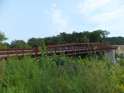 Mill Towns State Trail - Byllesby Bridge