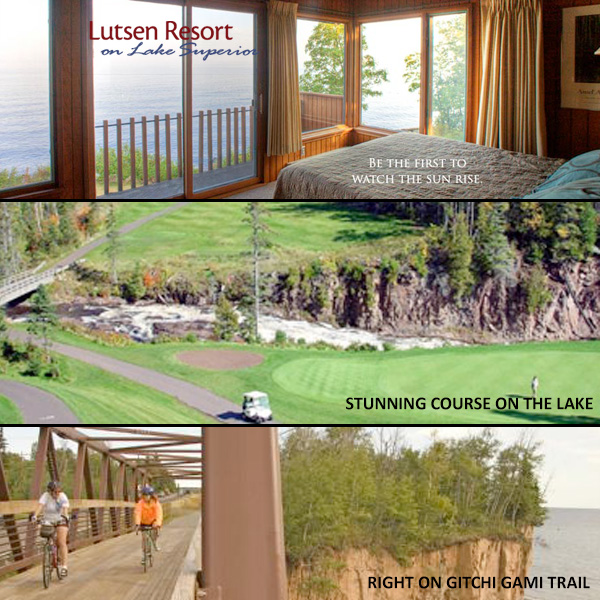 photos of lutsen resort and superior golf course
