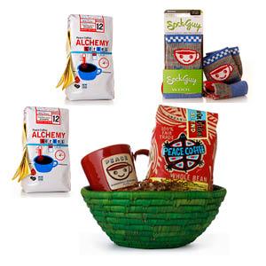 Peace Coffee basket