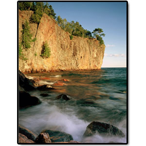 Photo of Gold Rock Point at Split Rock Lighthouse State Park