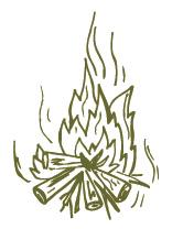 doodle campfire
