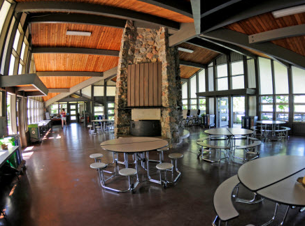 Cleary Lake Park Pavillion inside view