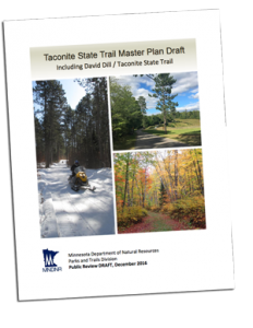 Taconite State Trail Draft Plan Cover