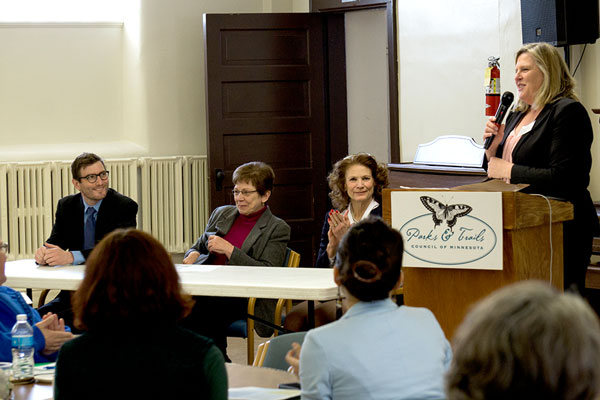 Our government relations consultant lead legislators in a panel discussion.