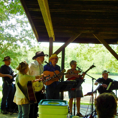 bluegrass band in the park