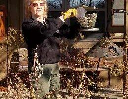 Retiring park manager Elain Feikema