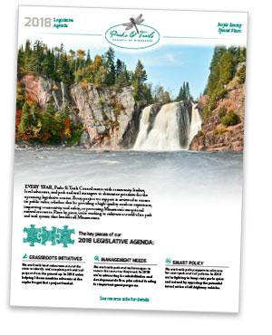 2018 legislative agenda first page