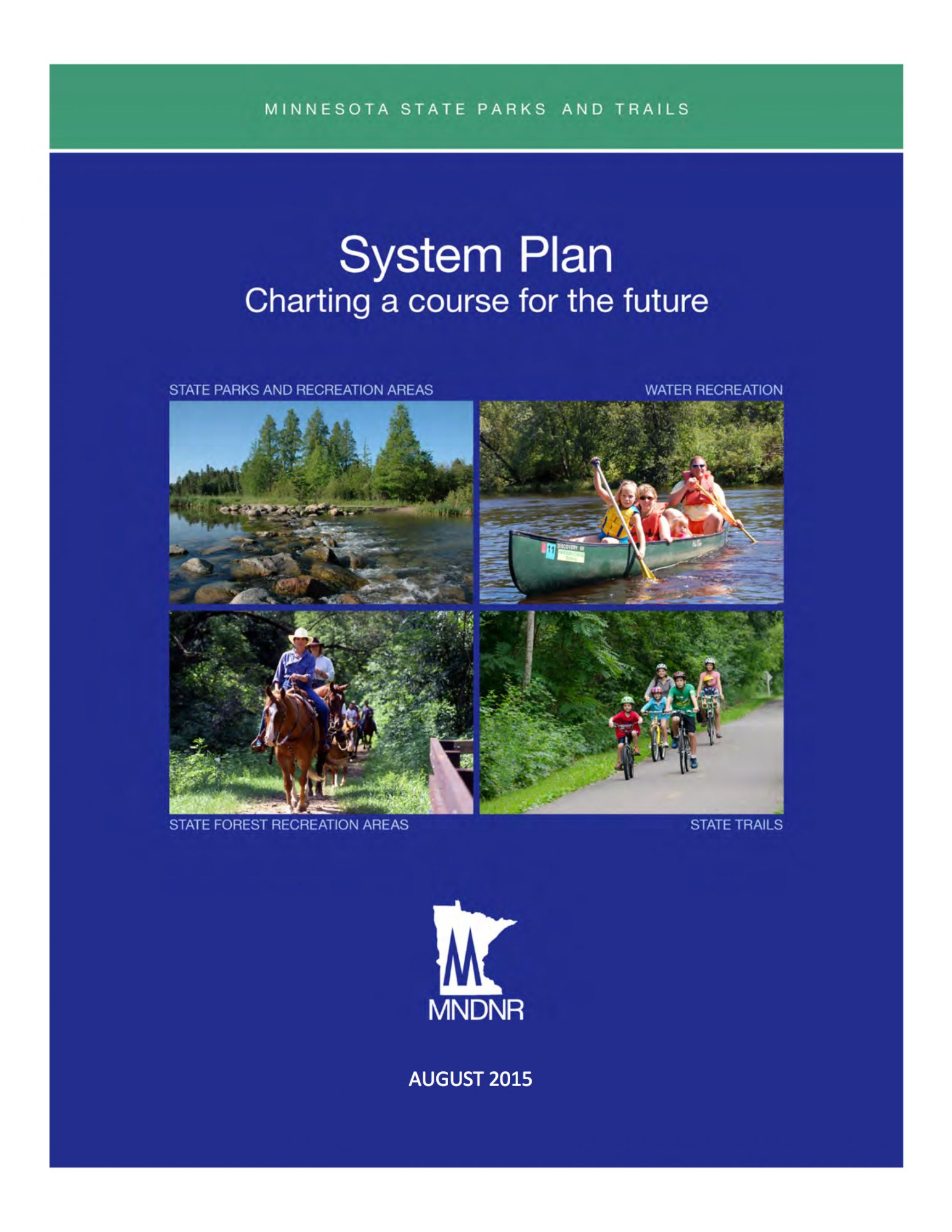 DNR System Plan Report Cover 2015