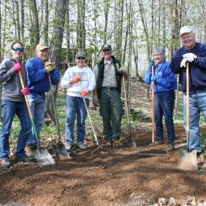 Clean Up Day at Father Hennepin State Park. Photo courtesy of East Central Energy