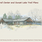 Sketch of proposed Glendalough Trailhead