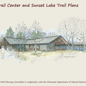 Sketch of proposed Glendalough Trailhead