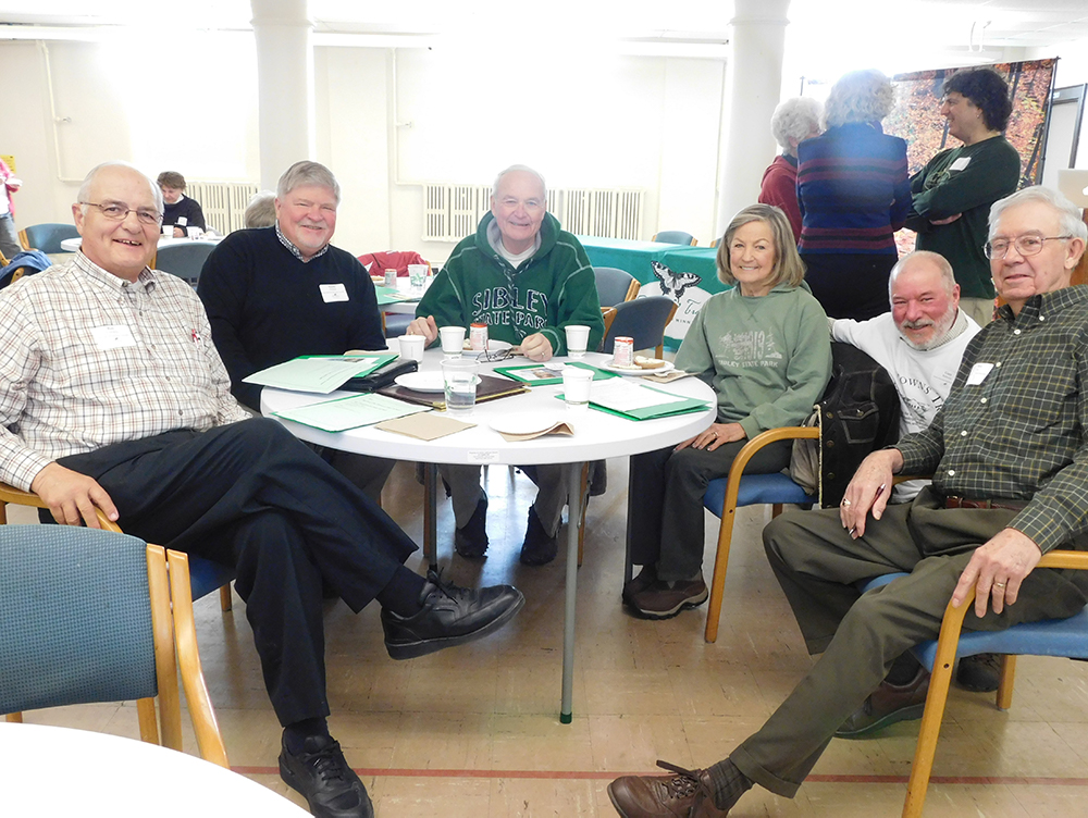 Folks from Sibley State Park Improvement Association