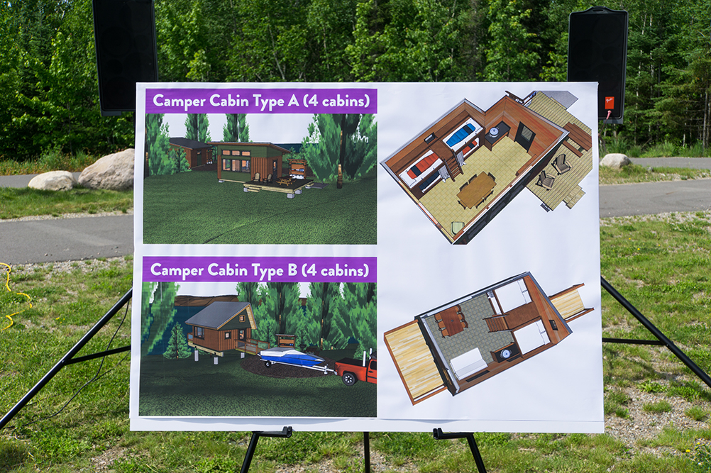 Plans for the camper cabins at Lake Vermilion