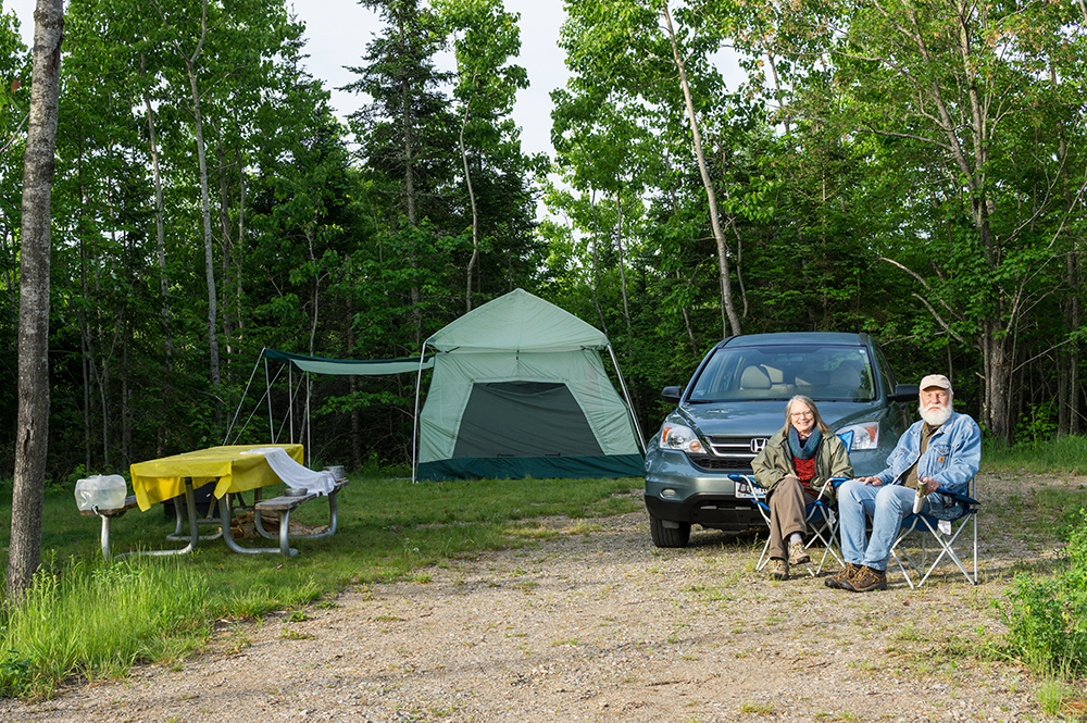 Campers settling in at new campground at Lake Vermilion