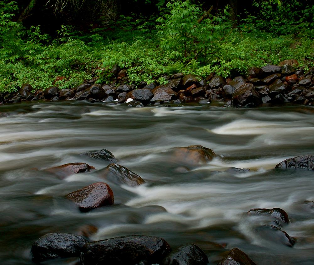 babbling river