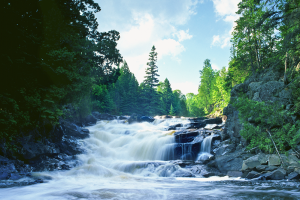 cascading Manitou River