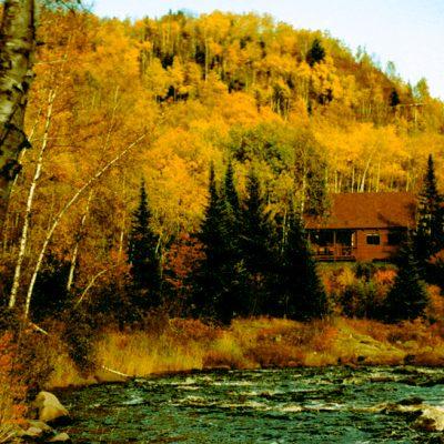 Illgen Cabin at Tettegouche State Park.