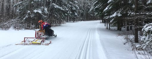 Volunteer Grooming Trails at Zippel Bay