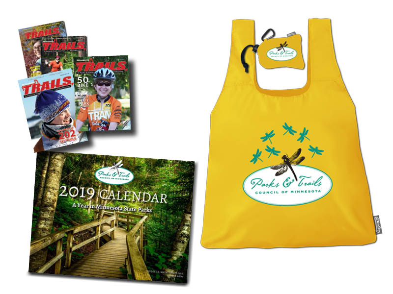 Gift Membership + Chico Bag + 2019 Calendar