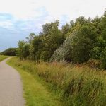 picturesque paved bike trail