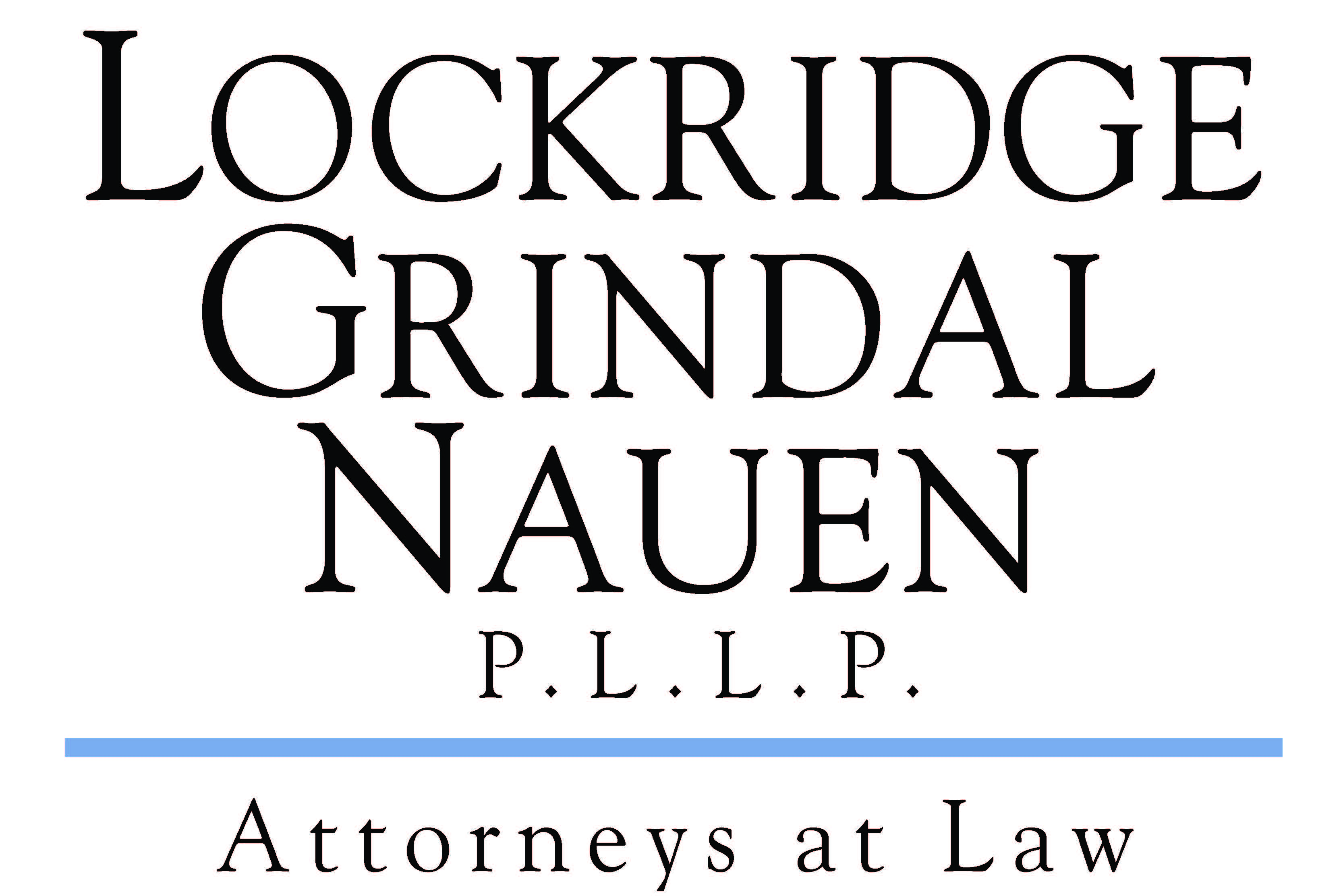 Logo for Lockridge Grindal Nauen PLLP