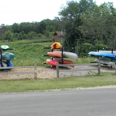 Kayak and canoe storage