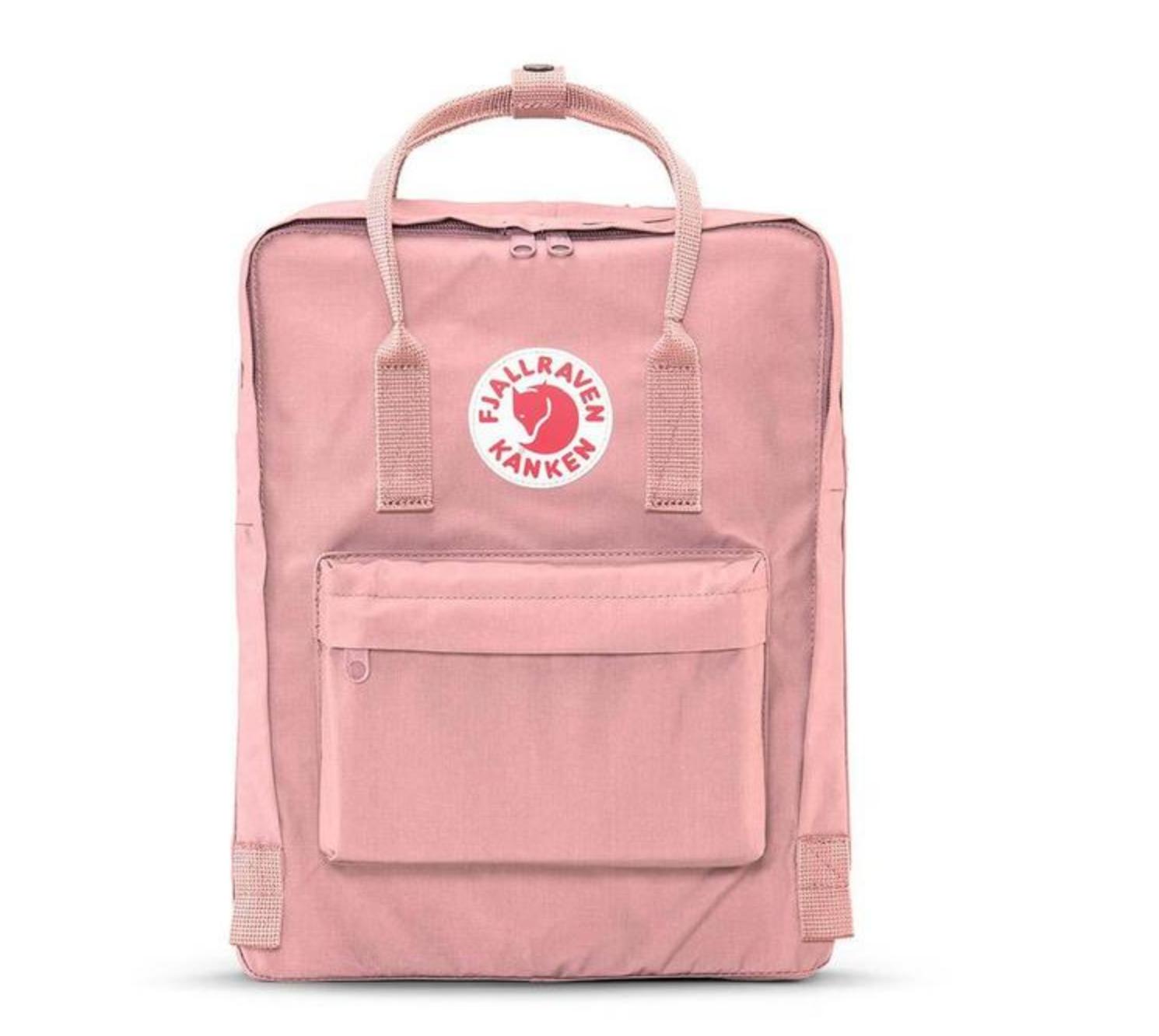 pink fjallraven backpack
