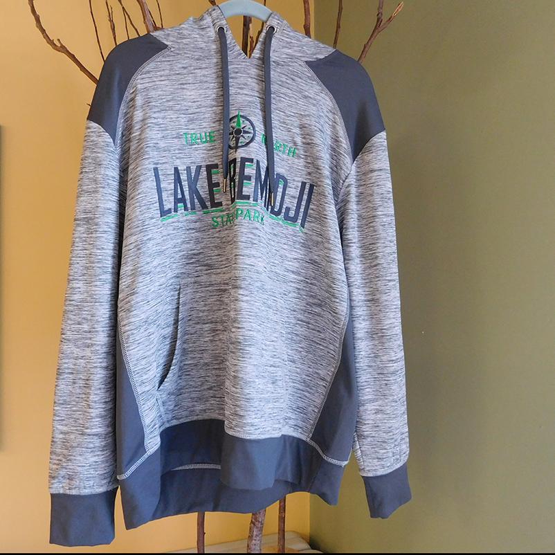 """grey sweatshirt """"Lake Bemidji"""""""