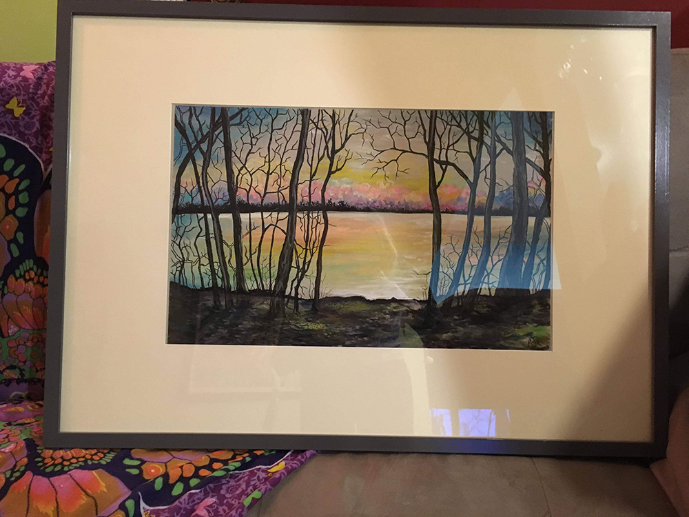 Photo of framed painting
