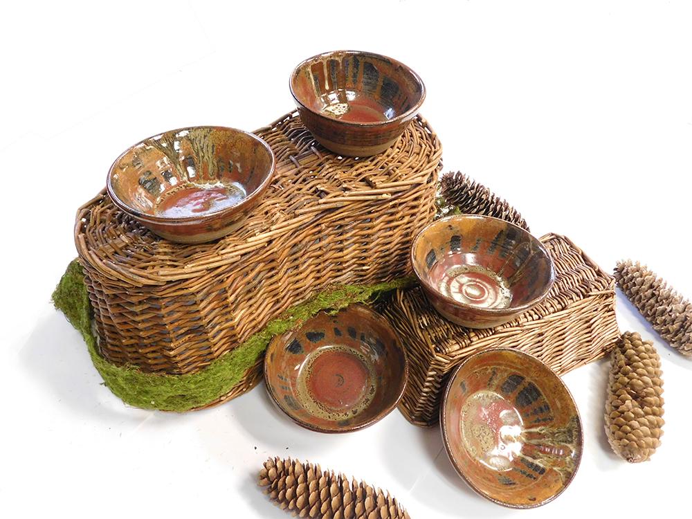 five bowls