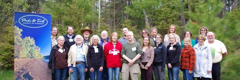 group picture outside with all workshop attendees