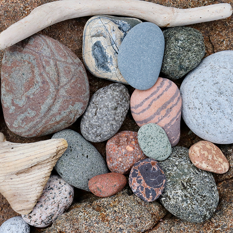 Collection of stones