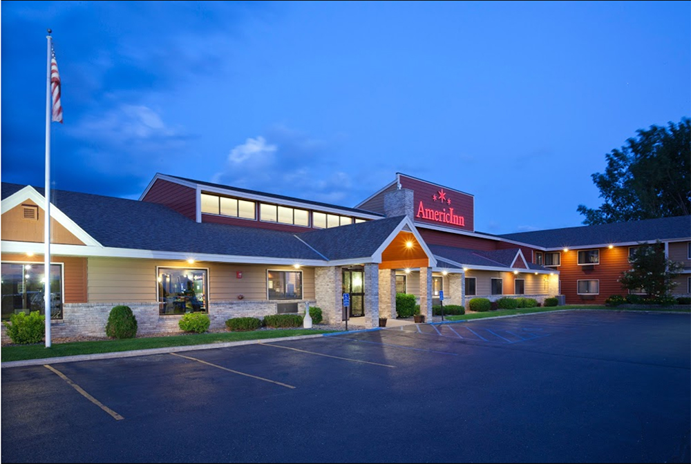 exterior view of the Americinn