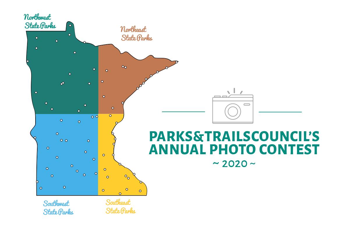 Image of Minnesota segmented into four
